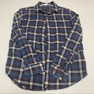 American Eagle outfitters plaid shirt M